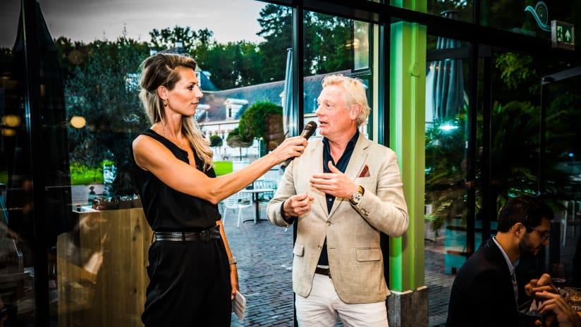 Manon Flier with Jan van Dellen