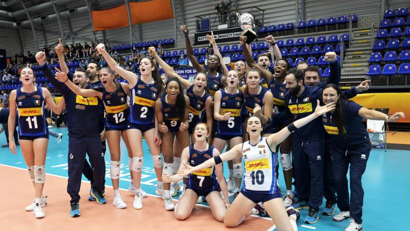 2021 FIVB Women's U20 World Champions, Italy