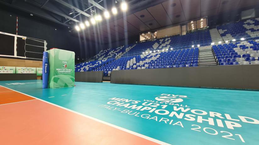 Levski Sofia hall ready to welcome FIVB Volleyball U21 Men's World Championship 2021