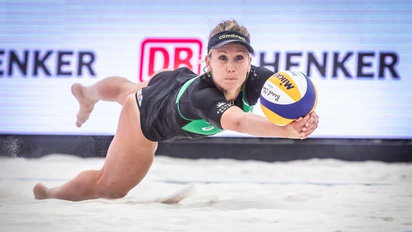 Karla Borger in defence