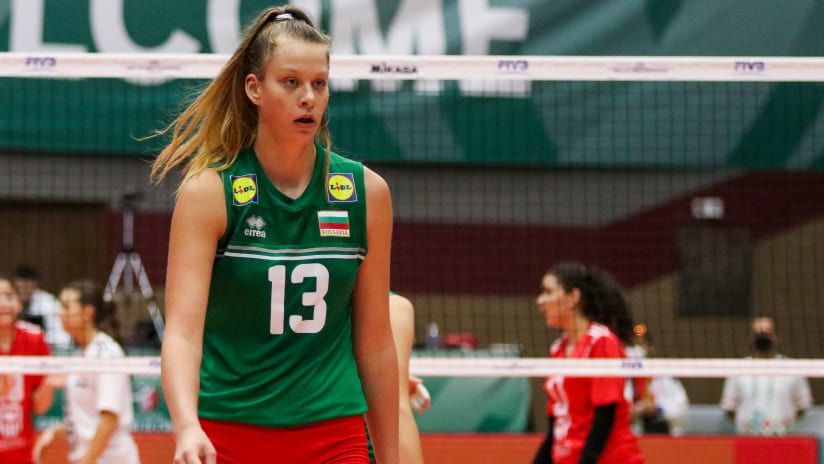 Dudova was instrumental to Bulgaria's victory with her 19-point performance