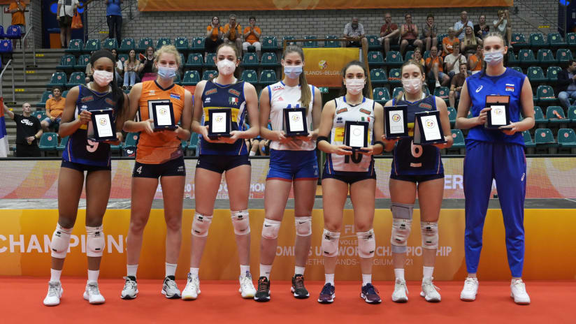 Dream team, 2021 FIVB Women's U20 World Championship