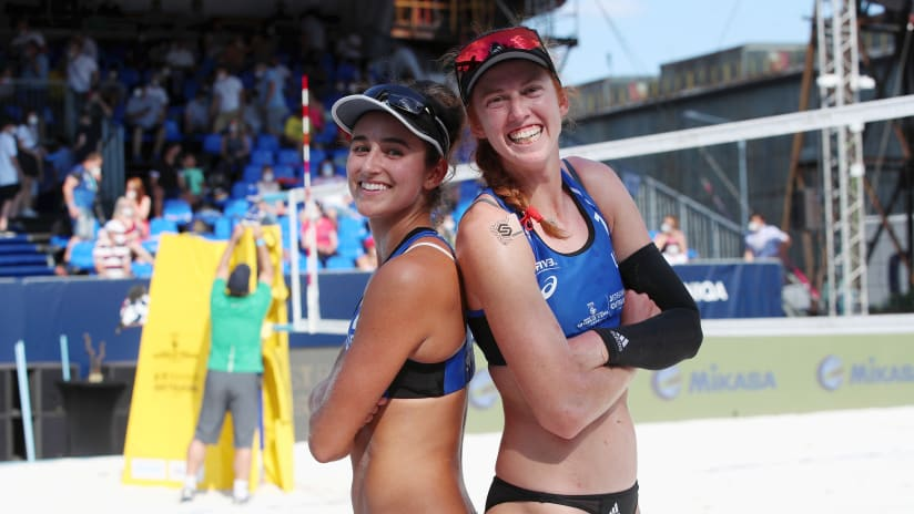 Sarah Sponcil and Kelly Claes