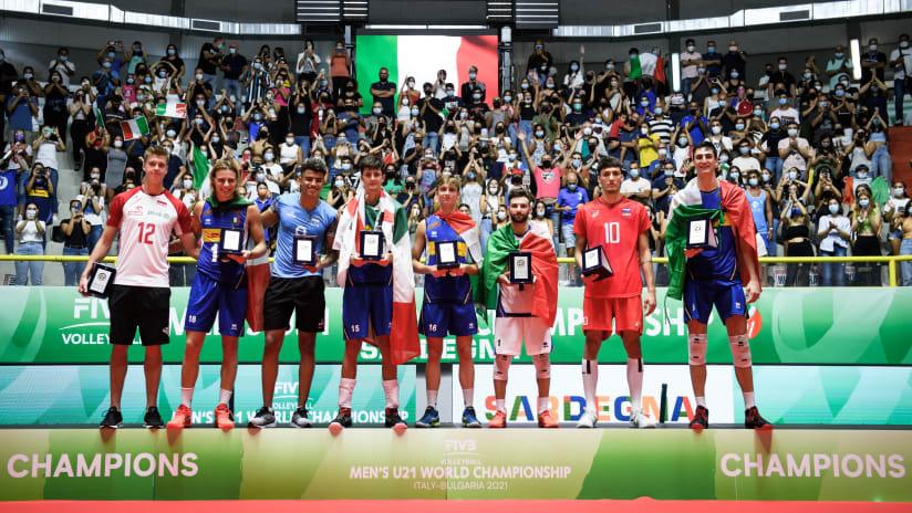 FIVB Volleyball Men's U21 World Championship Dream Team