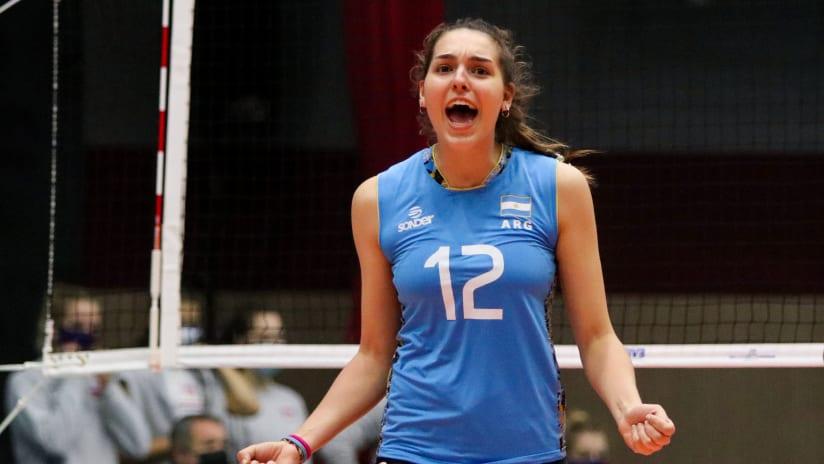Margaria delivered 16 points for Argentina