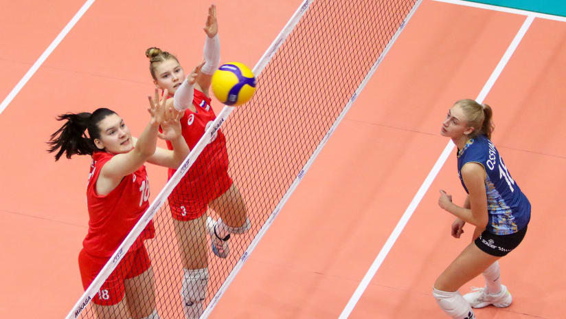 The Russian block was once again a factor in their victory