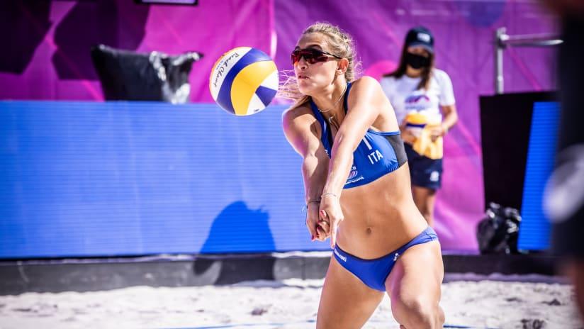 Valentina Gottardi in action