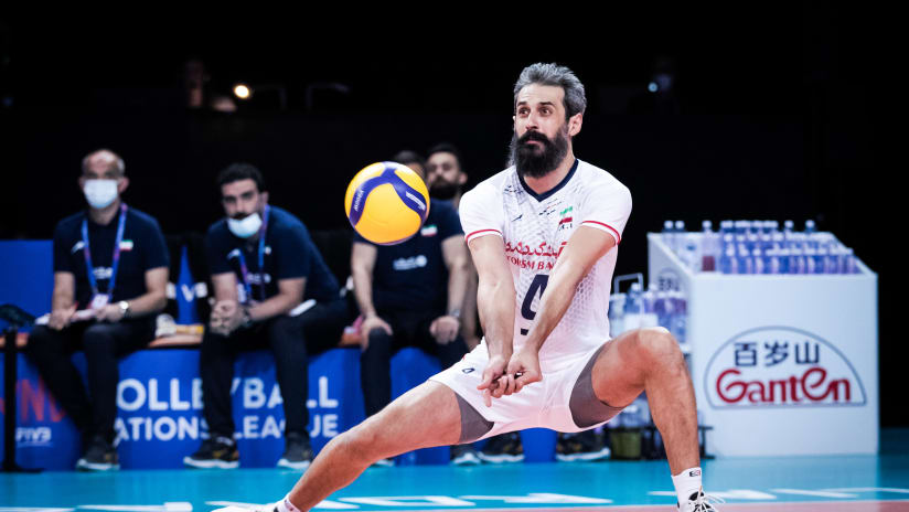 Iranian star setter Marouf has contributed to the team's perfect record in week 2