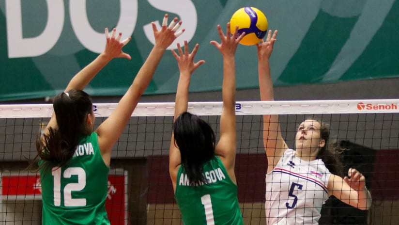 Deana Valentova scored 12 points in the Slovakian triumph
