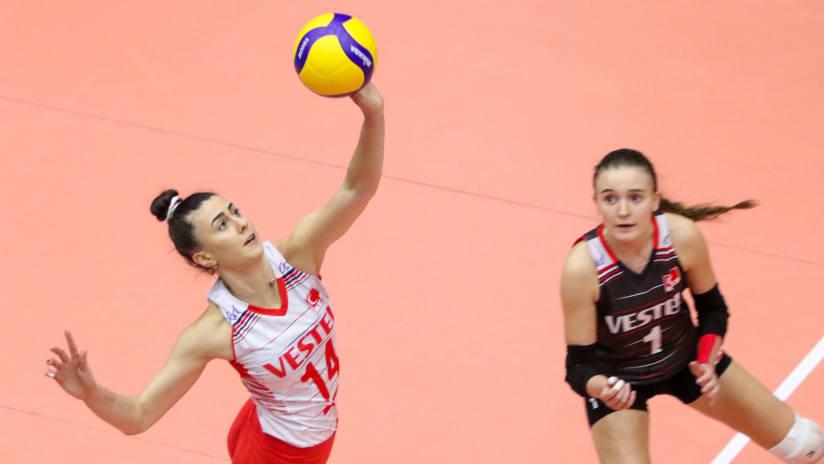 Captain Pelin Eroktay tallied 20 points in the Turkish victory