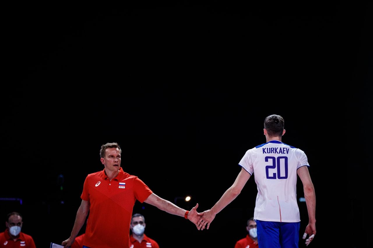 Russia coach Tuomas Sammelvuo