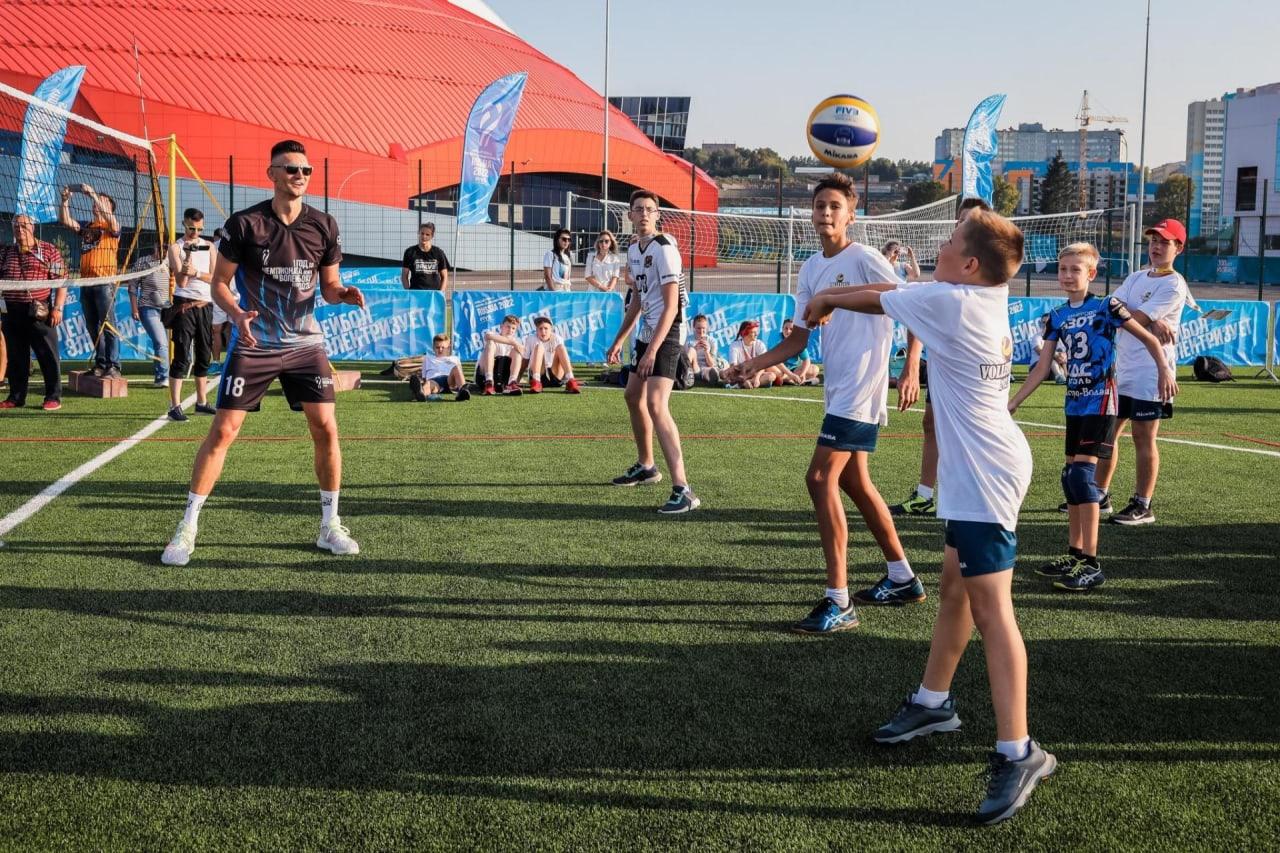 Volleyball festival in Kemerovo