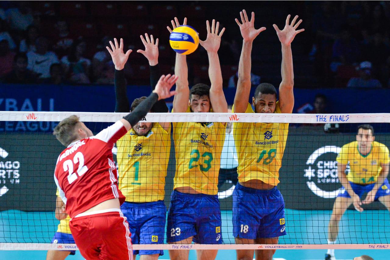 Bruno Rezende, Flavio Gualberto and Ricardo Lucarelli (Brazil)