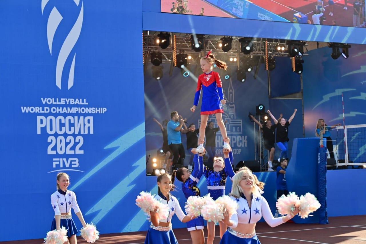 1 year to go celebration in Krasnoyarsk
