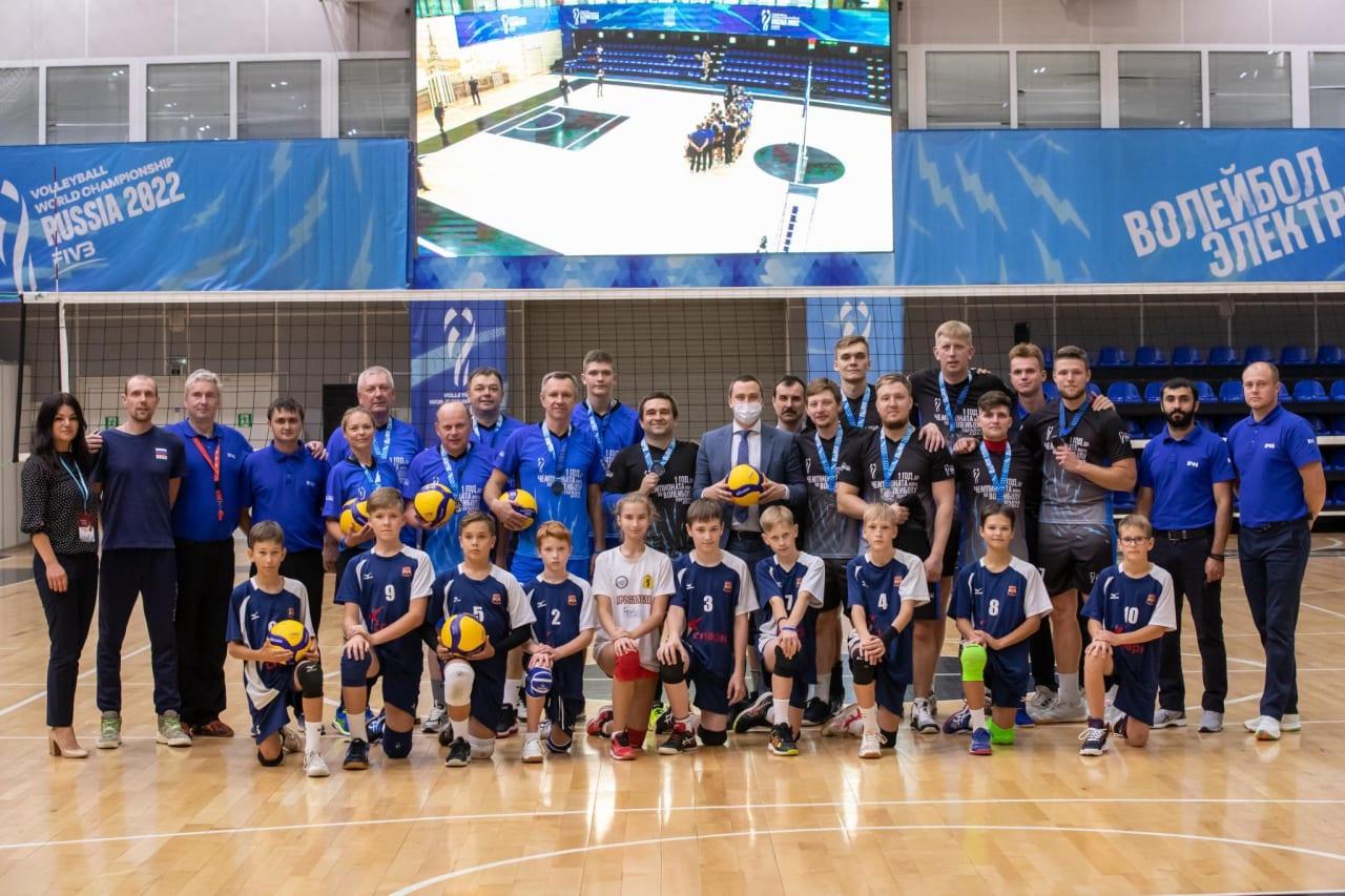 Medal winners in Yaroslavl