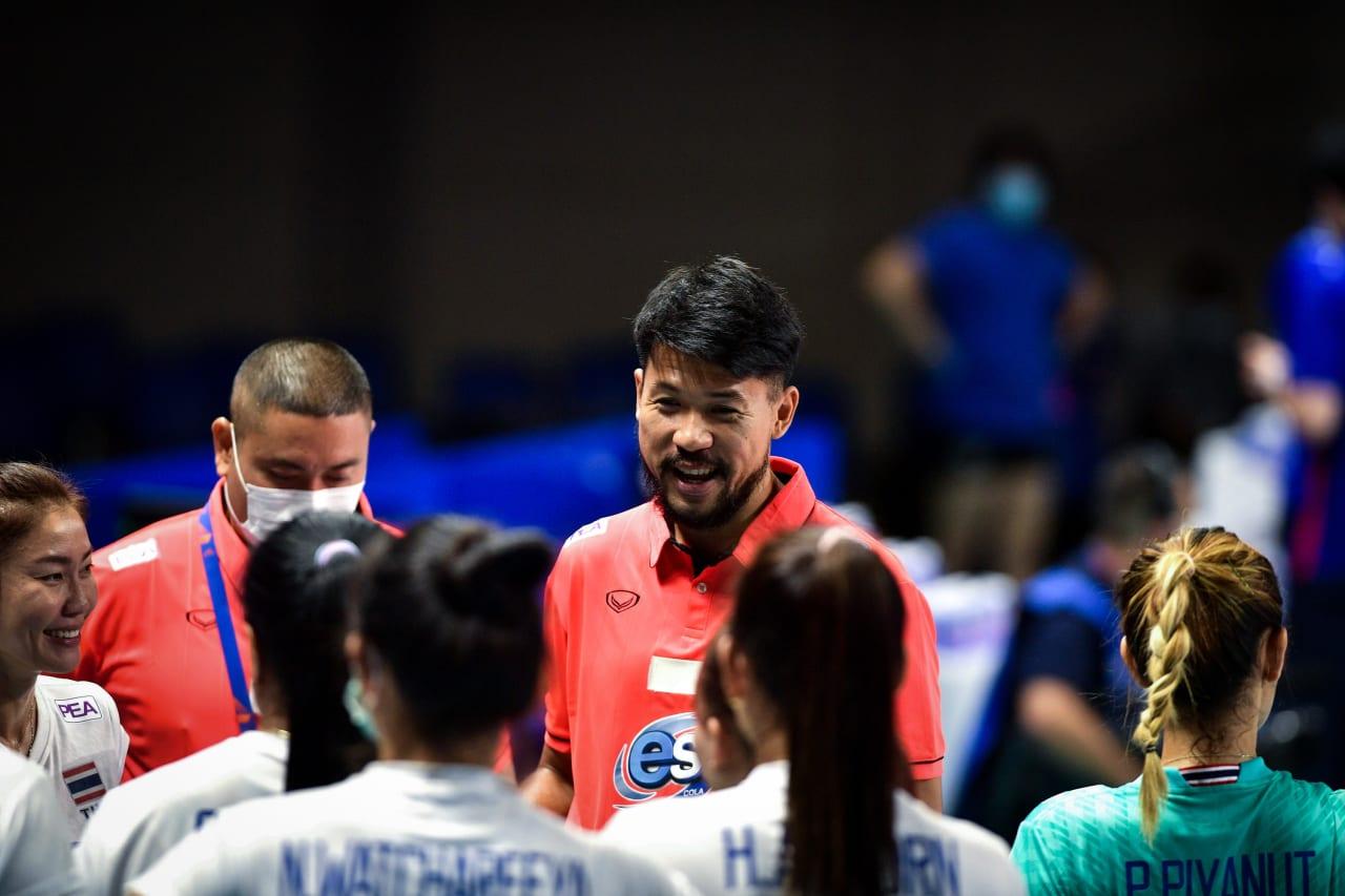 Thailand team talk