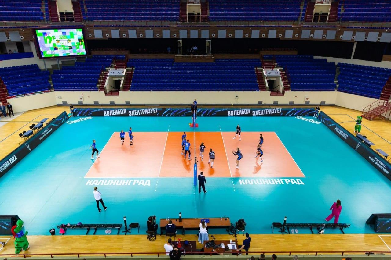 Volleyball in Kaliningrad
