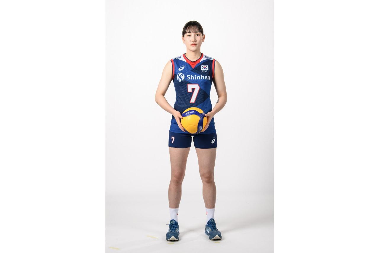 7-Hyejin An - mikasa ball