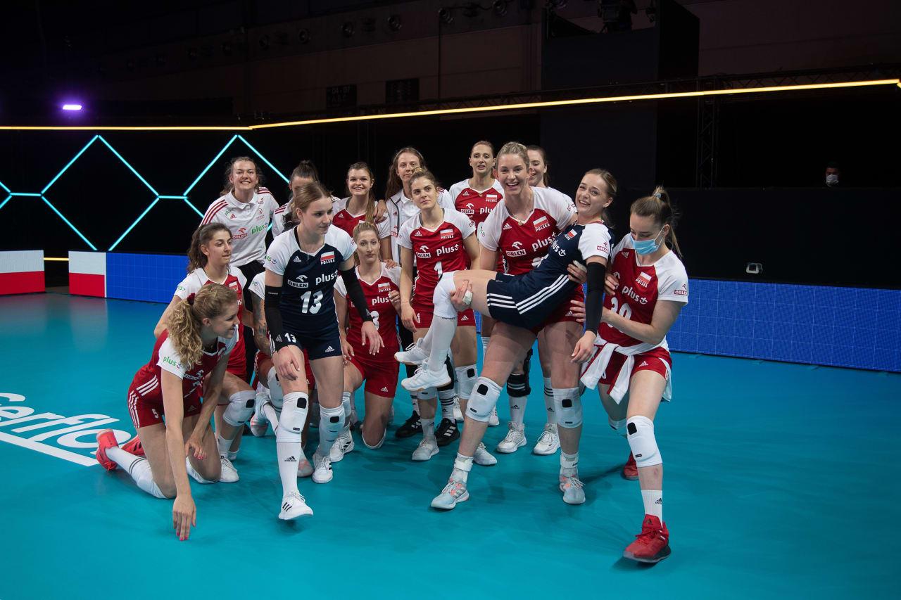 Poland celebrate victory
