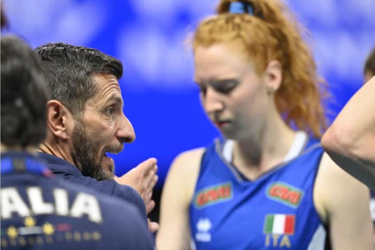 Italy team talk