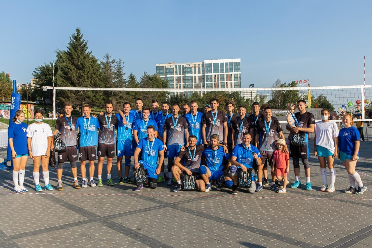 Medal winners in Novosibirsk