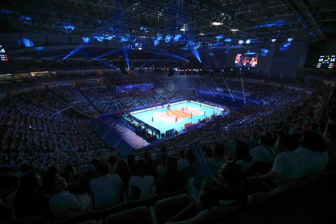 Full house at the Finals in Nanjing