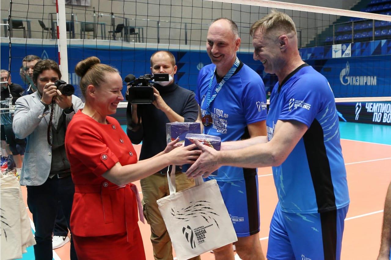 Prize winners in Saint-Petersburg