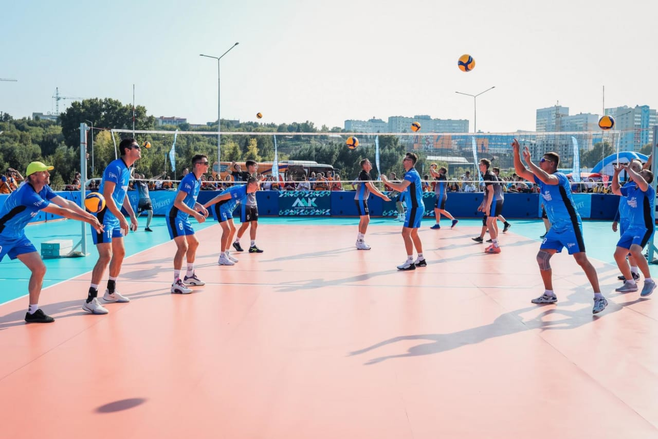 Festival of volleyball in Kemerovo