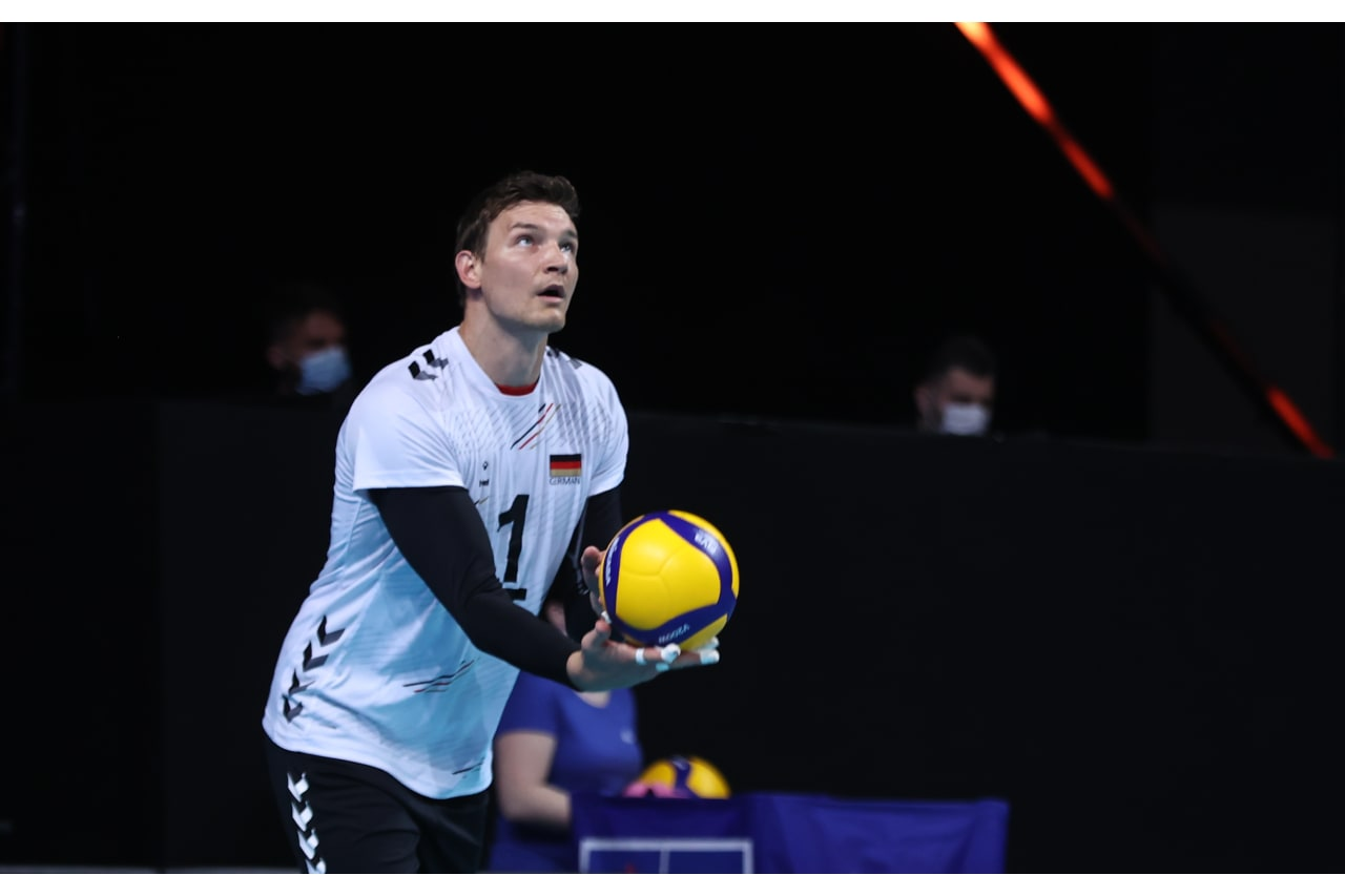 Germany captain Christian Fromm