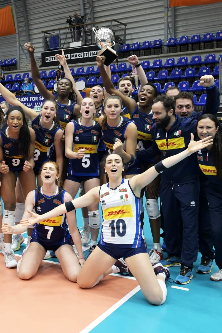 Italy crowned U20 champions