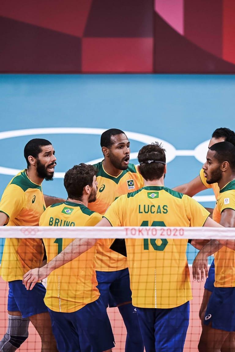 Matchups confirmed for men's volleyball quarterfinals
