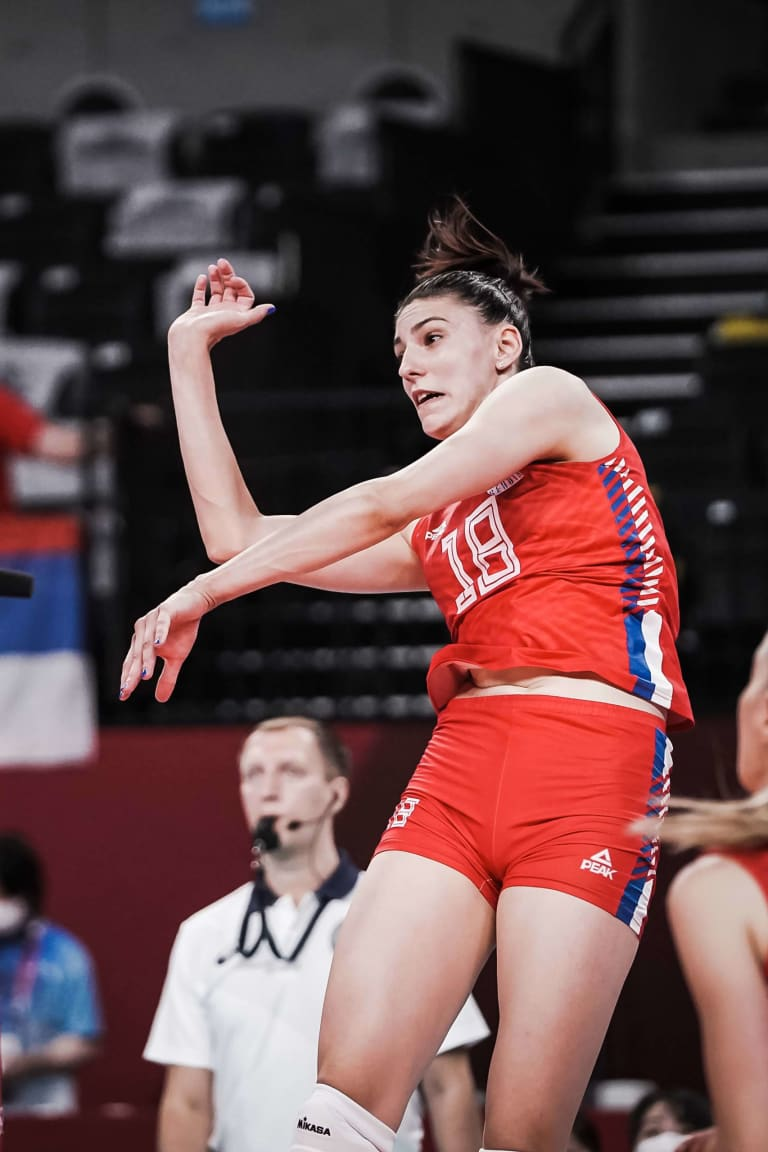 Serbia and Brazil complete women's semis quartet