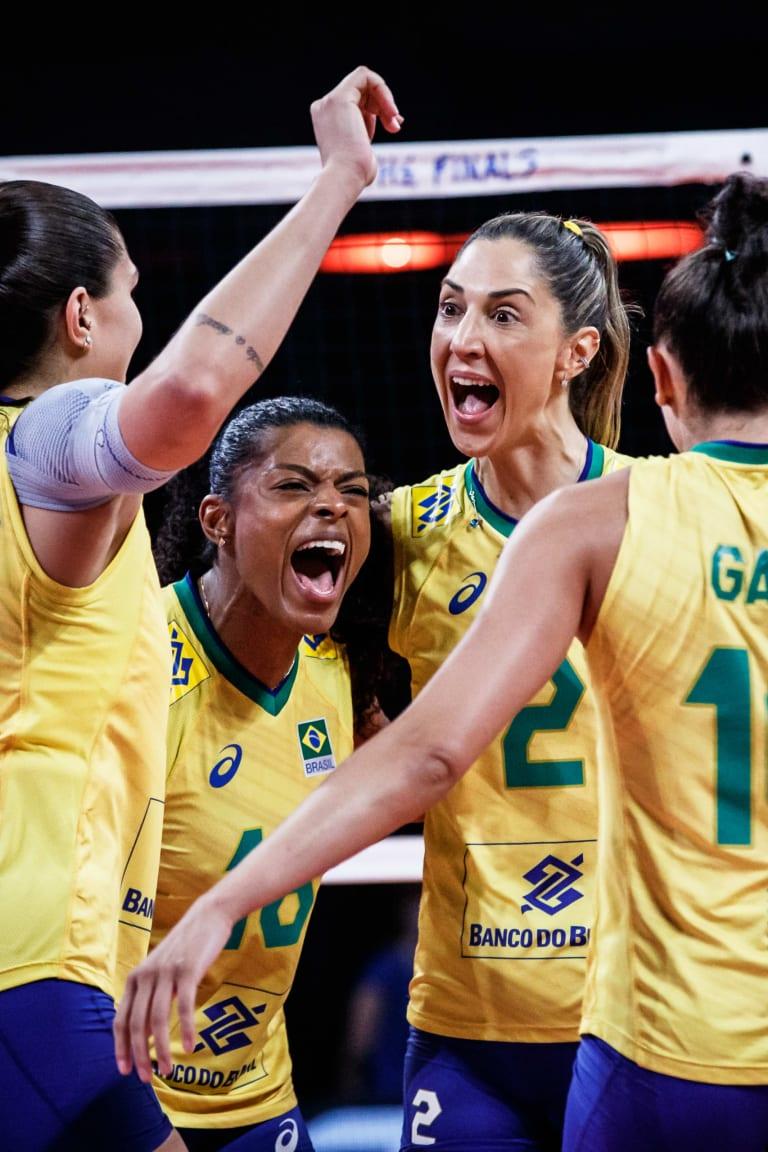 Blazing Brazil overwhelm Japan for back-to-back VNL final