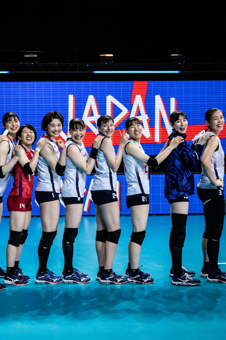 Japan survive mighty scare, on track for Women's VNL semis