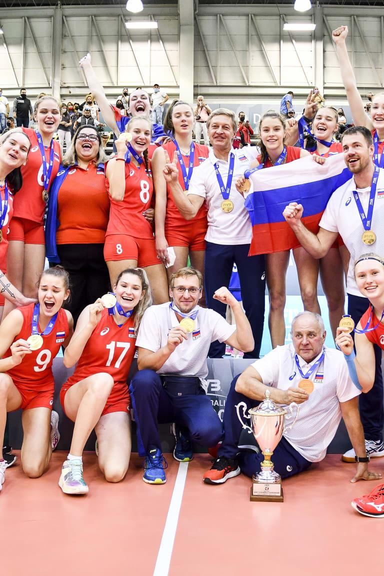 Russia are the 2021 U18 world champions