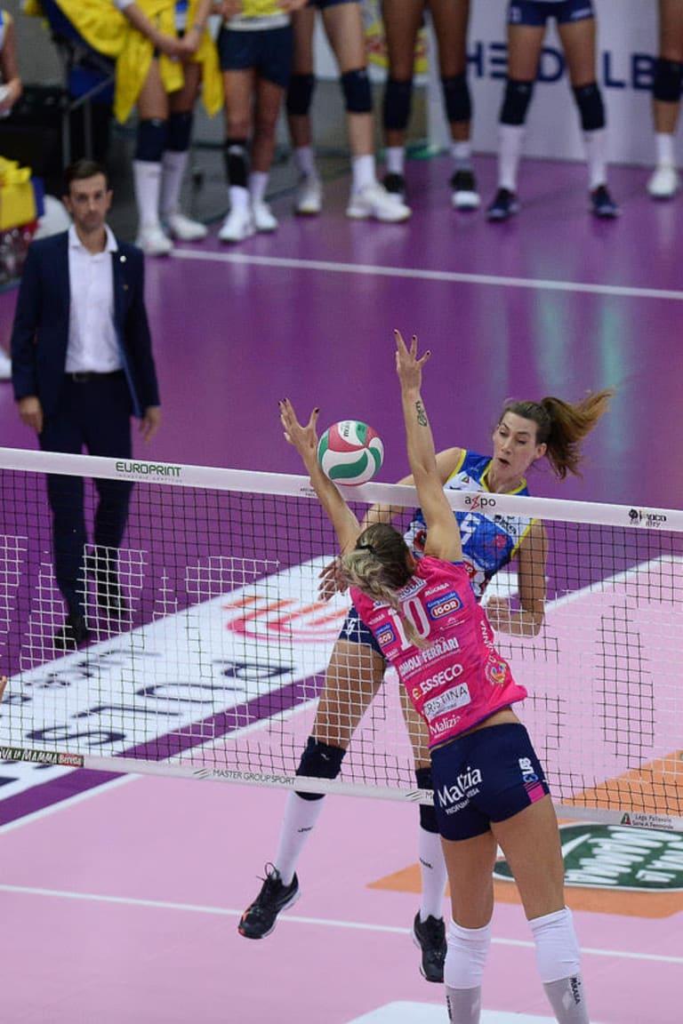 Conegliano unstoppable in Italy's women's league