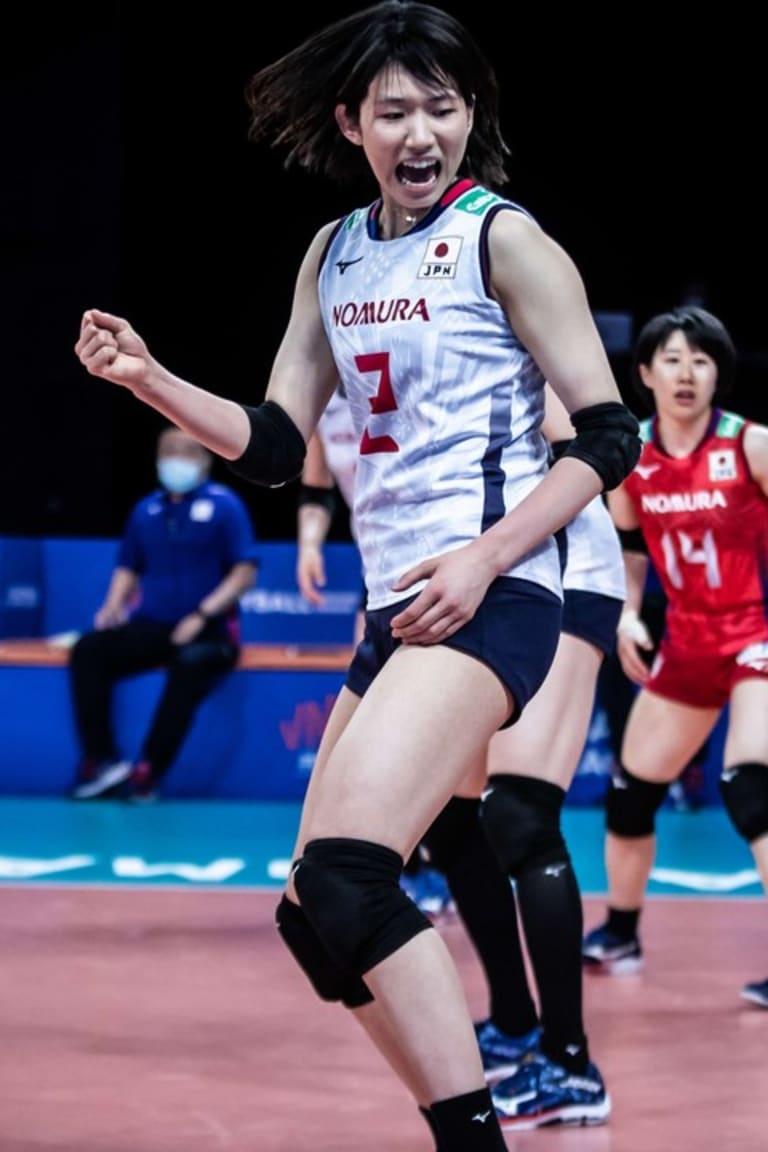 Top Scorer: Sarina Koga