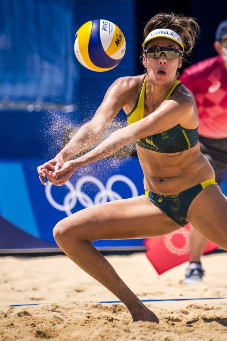 Australia's Taliqua Clancy in action