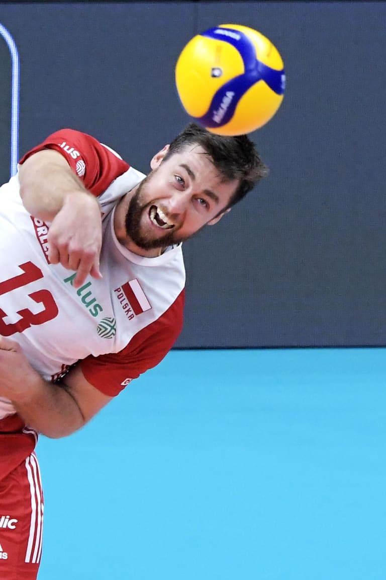 Poland v Slovenia and Serbia v Italy in EuroVolley semis