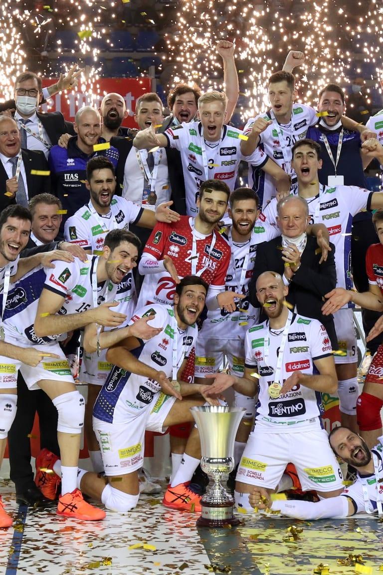 Trentino claim third Supercoppa trophy